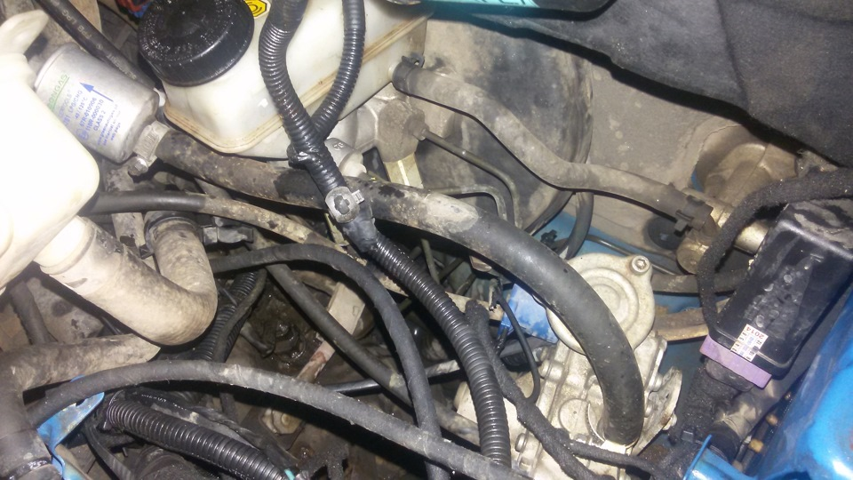 Aveo: Замена вентилятора и охлаждающей жидкости