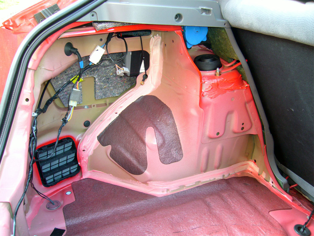 Шумоизоляция багажника ланос своими руками 80