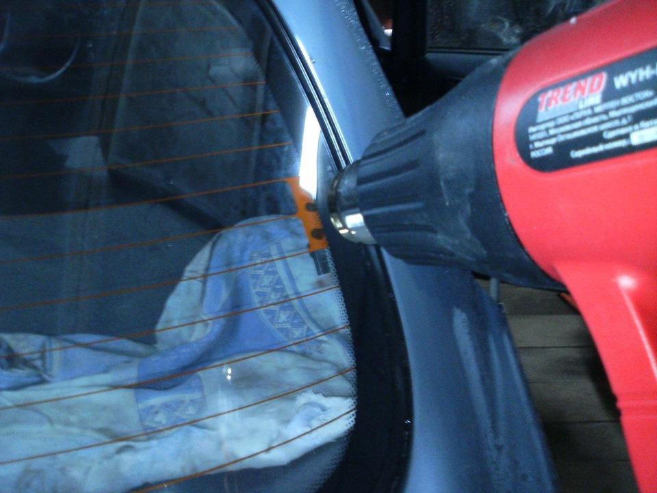 Как отремонтировать на автомобиле обогрев заднего стекла