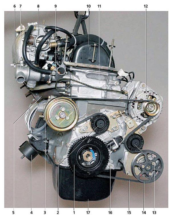 Двигатель на шевроле ниву своими руками