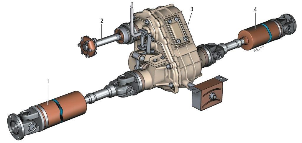 Раздатка нива шевроле инструкция