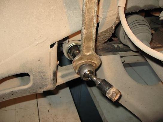 Трейл Блейзер: замена рулевых тяг и наконечников - Ремонт и тюнинг Шевроле