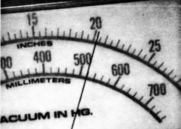 Lacetti: Проверка двигателя с помощью вакууметра