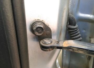 Aveo: Ограничитель двери