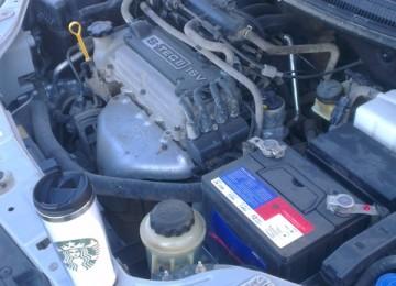 Aveo: Замена масла и промывка двигателя
