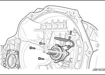 Lacetti: Концентрический цилиндр выключения сцепления