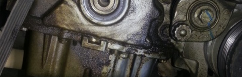 Cobalt: замена сальника коленвала