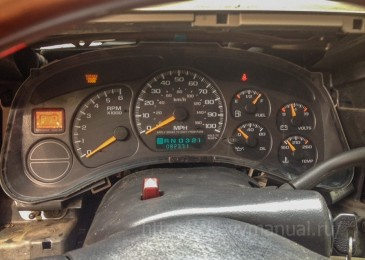 Ремонт приборной панели Chevrolet Suburban/Tahoe