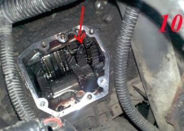 Замена сальника штока механизма переключения передач
