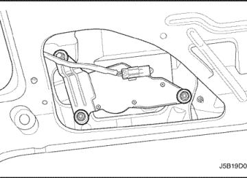 Lacetti: Электродвигатель стеклоочистителя заднего стекла