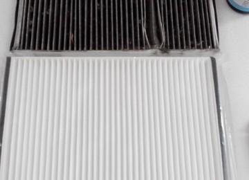 Aveo: Замена фильтра воздуха салона