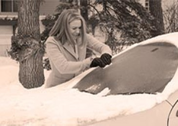 Что делать, если змерзли стекла в автомобиле