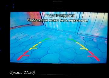 Cobalt: установка камеры заднего вида