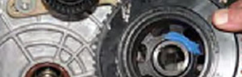 Замена переднего сальника коленчатого вала