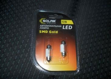 Замена лампочки в салоне