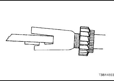 Lacetti: Регулировка барабанного тормозного механизма