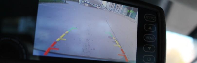 Зеркало с камерой заднего вида в штатное место