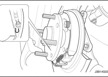 Lacetti: Регулировка стояночного тормоза