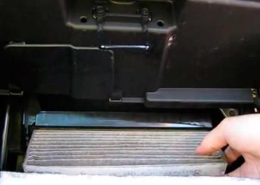 Замена салонного фильтра на Chevrolet Cobalt