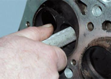 Дефектовка деталей головки блока цилиндров
