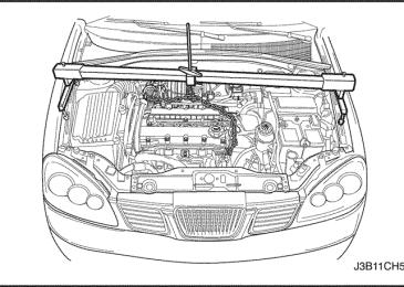 Lacetti: Подвеска двигателя